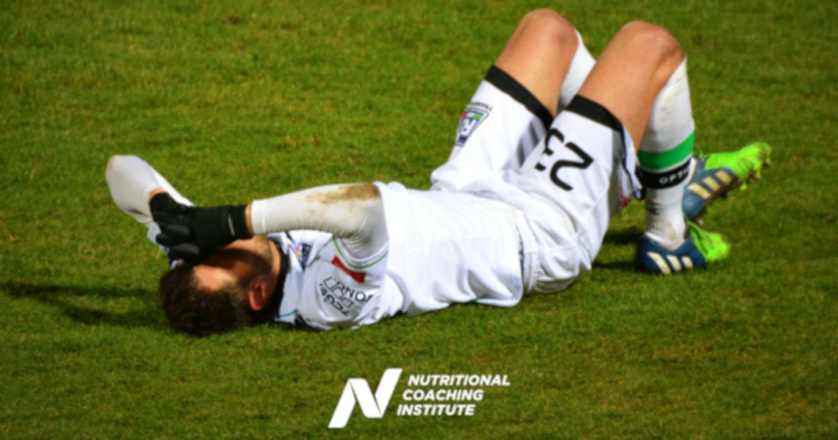 Nutritional Protocol When Injury Strikes