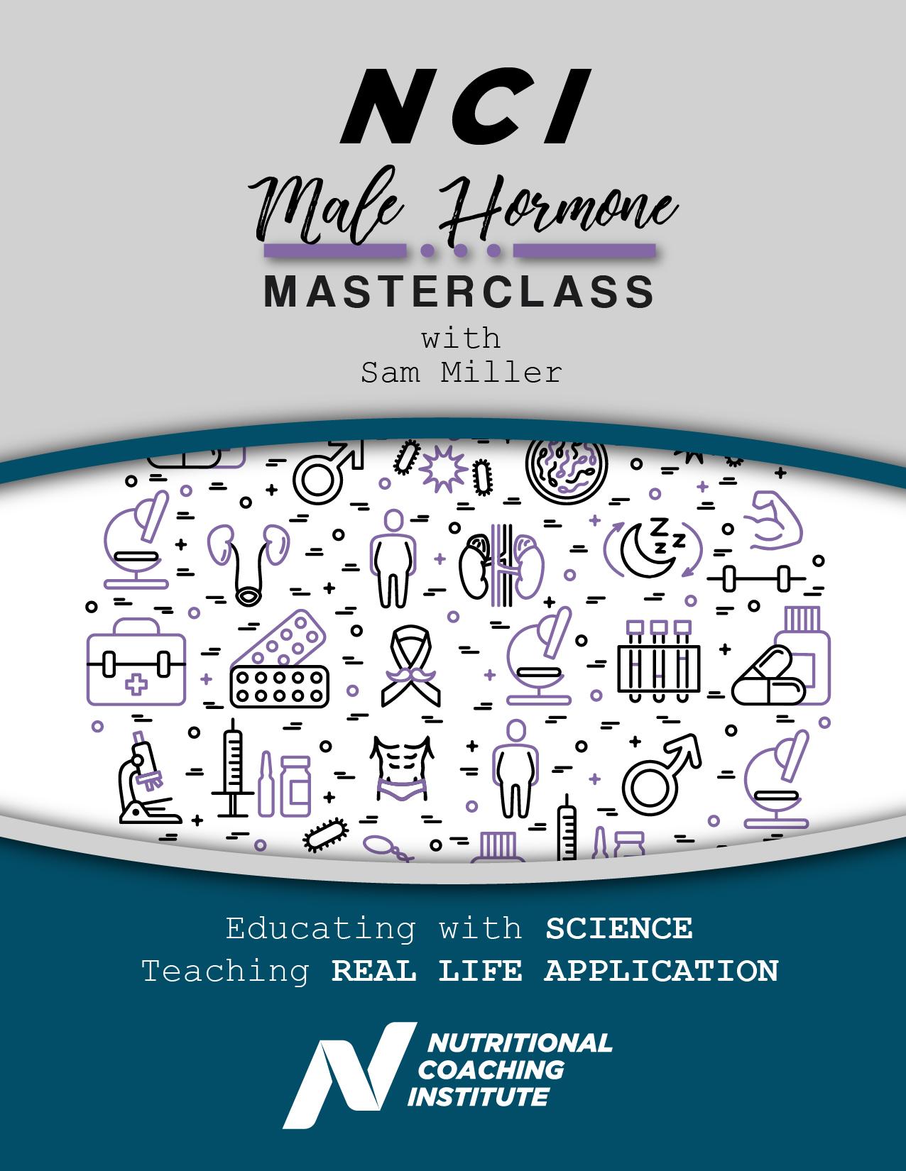 NCI Master Class Mens Hormones - Cover